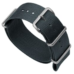 ZULUDIVER 141 Nylon NATO Watch Band - Admiralty Grey