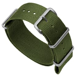 ZULUDIVER 141 Nylon NATO Watch Band - Army Green