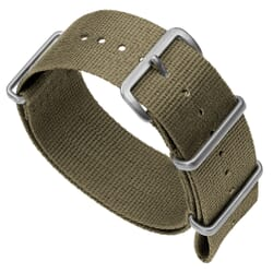 ZULUDIVER 141 Nylon NATO Watch Band - Desert Sand