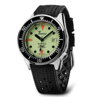 Squale 1521 Swiss Made Diver's Watch With Full Luminous Dial
