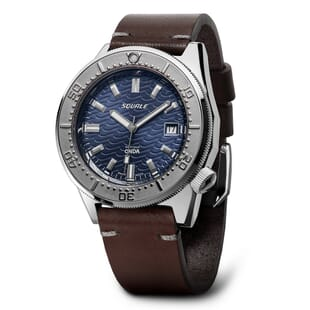 Squale 1521 Onda Blue Dial Swiss Made Diver's Watch