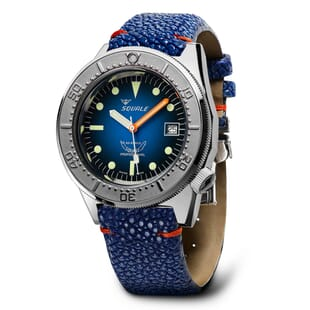 Squale 1521 Blue Ray Swiss Made Diver's Watch