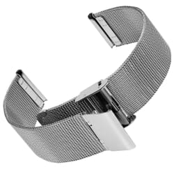 Stainless Steel Fine Milanese Mesh Watch Strap by Geckota