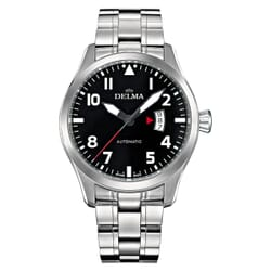 Delma Commander Automatic ETA 2824-2 Pilots Watch