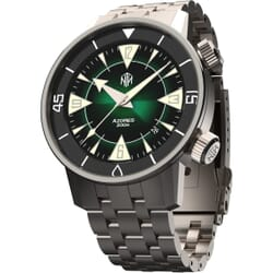 NTH Azores Vintage Style Divers Watch Green Dial