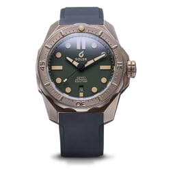 Boldr Odyssey Bronze Pine Green Automatic Divers Watch