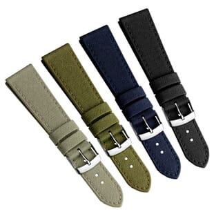 Cordura® Fabric Water-Repellent Watch Strap