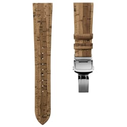 "Greenwood (MKII) Deployment ""Vegan"" Cork Watch Strap"
