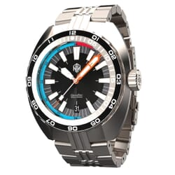 NTH Devil Ray Diver's Watch - Black Dial