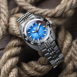 NTH 2021 DevilRay Automatic Dive Watch - Blue