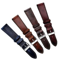 Radstock Vintage Genuine Leather Watch Strap