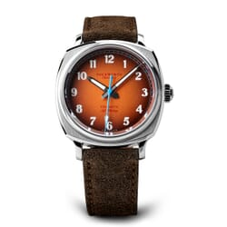 Duckworth Verimatic Watch Brown Dial and Brown Suede Strap