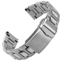 Langstone Solid Stainless Steel Diver's Watch Strap 20mm