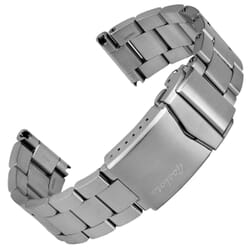 Hylton Solid Stainless Steel Diver's Watch Strap