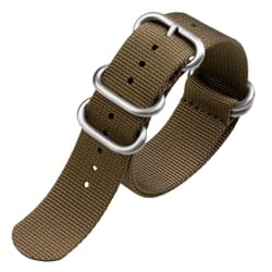 ZULUDIVER Heavy Duty ZULU Watch Strap - Khaki