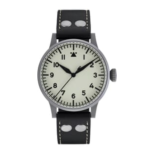 Laco Venedig 42mm A Type Watch White Lumed Dial 861894