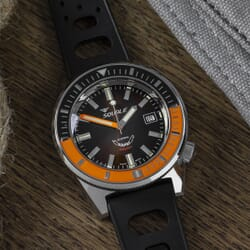 Squale Matic - Brown Dial With Polished Case