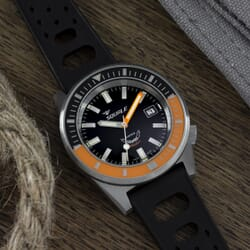 Squale Matic - Orange With Satin Case