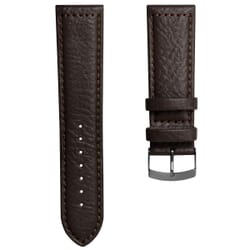 Paladina Buffalo Grain Wide Fitting Genuine Leather Watch Strap