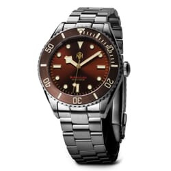 NTH Barracuda Diver's Watch - Brown Dial