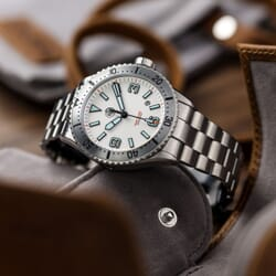 NTH SwiftSure Diver's Watch - White Dial
