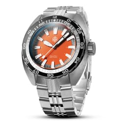 NTH 2021 DevilRay Automatic Dive Watch - Orange