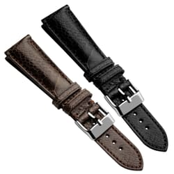 Ostrich Leg Highley Genuine Leather Watch Strap