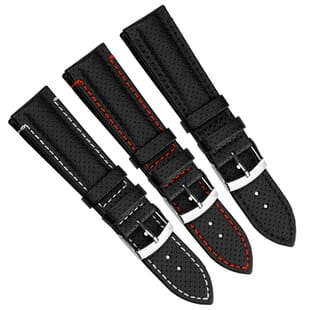 Racale Water-Resistant Microfibre Watch Strap