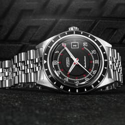 FORZO Glickenhaus Limited Edition Automatic Watch Black / Red Dial