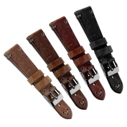 Simple Handmade Quick Release Watch Strap - Shorter Length
