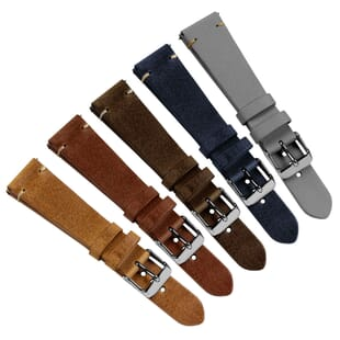 Vintage Winchester Quick Release Watch Strap - Shorter Length