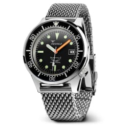 Squale 1521 - Black with Polished Case