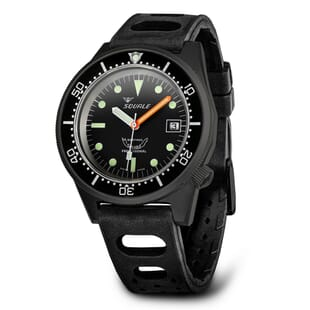 Squale 1521 Black PVD Swiss Made Diver's Watch