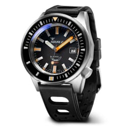 Squale Matic - Black With Satin Case