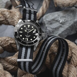 Premium ZULUDIVER Military Herringbone NATO Watch Strap - Bond