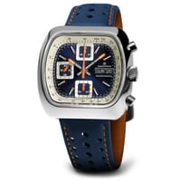 Straton Speciale Automatic Chronograph Watch - Blue