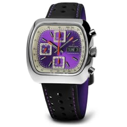 Straton Speciale Automatic Chronograph Watch - Purple