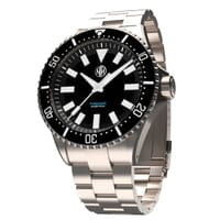 NTH Thresher Diver's Watch - Black Dial