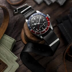 Premium ZULUDIVER Military Herringbone NATO Watch Strap, Satin Hardware
