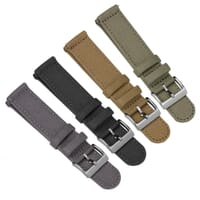 ZULUDIVER Croyde 2 Piece Canvas Quick-Release Watch Strap