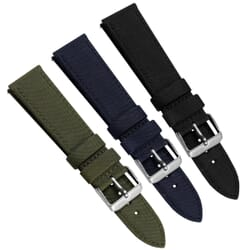 SEAQUAL® Upcycled Fabric ZULUDIVER Watch Strap
