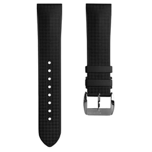 ZULUDIVER Padded Tropical Rubber Watch Strap
