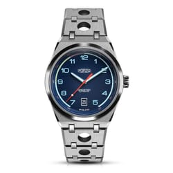 FORZO Gridster Stainless Steel Automatic Watch Blue Dial