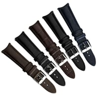 Selby Remborde Curved Ends Genuine Leather Watch Strap