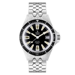 YEMA Superman Skin Diver Limited Edition Watch 39mm Front Image