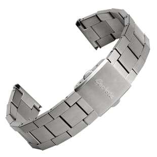 Flat Links Version Berwick Stainless Steel Watch Strap