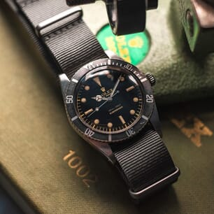The Vintage Watch Company NATO by Geckota - Admiralty Grey
