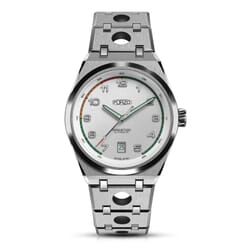 FORZO Gridster Automatic Watch White Dial