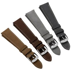 Naphill Genuine Nubuck Leather Quick Release Watch Strap