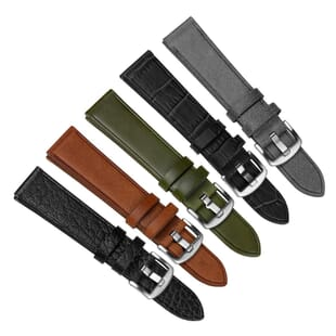Witley Vintage Style Genuine Italian Leather Watch Strap